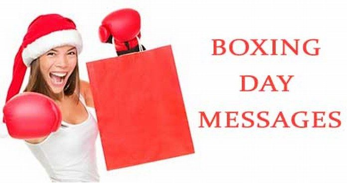 Boxing Day Messages