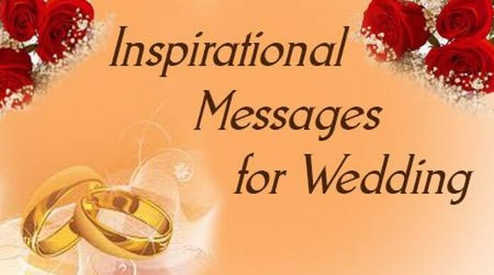 Inspirational Wedding Messages Wishes