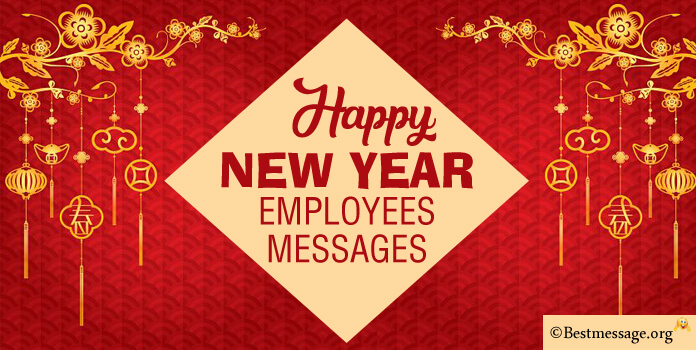 Sample New Year Messages for Employees