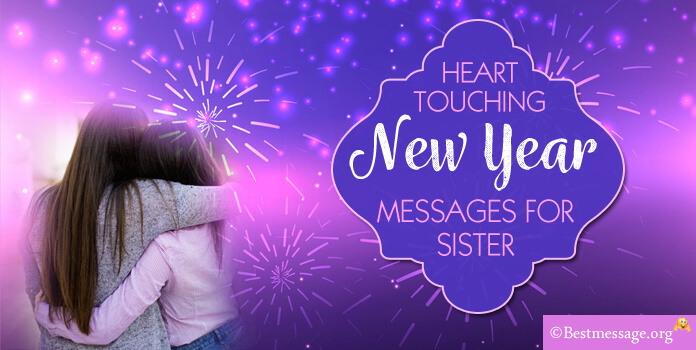 Best sample message list of wishes and text messages for special new year wishes for sister spiritdancerdesigns Choice Image