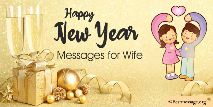 Sweet New Year Messages for Wife