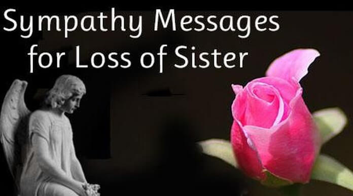 Sympathy Messages for Death of Sister
