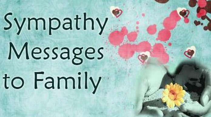Best Sympathy Messages to Family