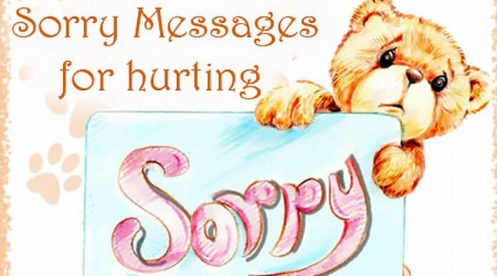 Sorry Messages Hurting