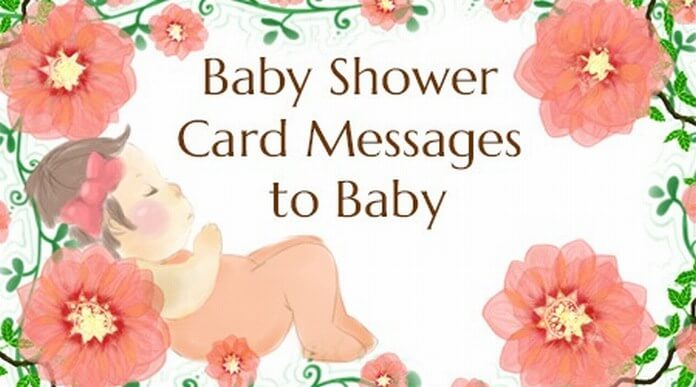baby shower card wishes are sent through baby shower cards to the