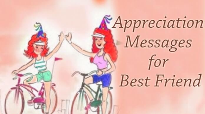 Appreciation messages for best friend Gifts to show appreciation to friend