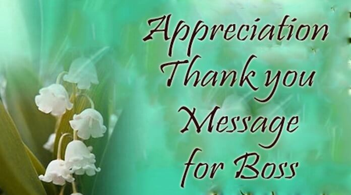 "message of thanks Sending someone an appreciation letter is a great way to show thanks and to maintain strong relationships with people in your network why send an appreciation letter  in an age of text messaging and ""instant communications,"" writing thank-you notes and business letters is becoming a lost art yet."