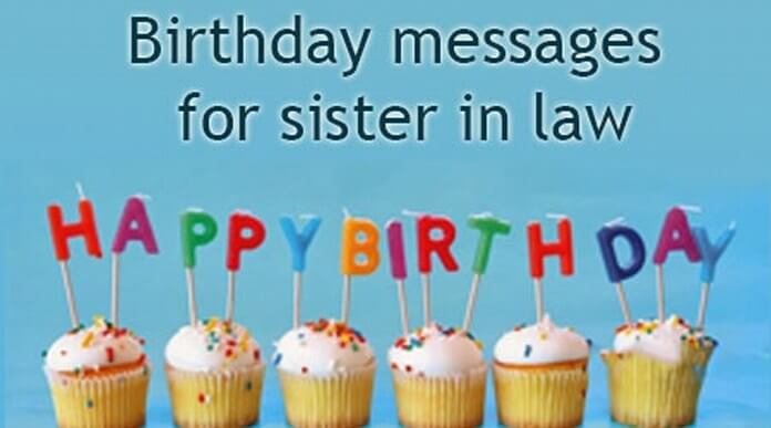 Birthday Messages for Sister in Law