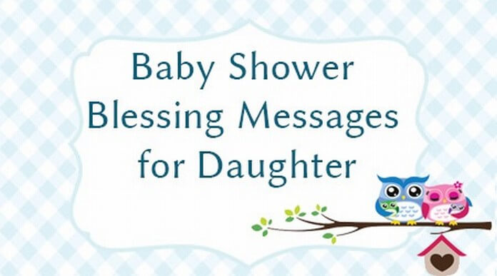 Baby Shower Blessing Messages for Daughter