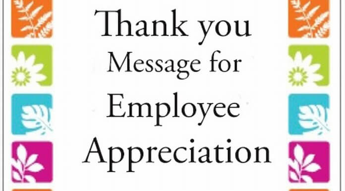 Employee Appreciation Quotes Endearing Employeeappreciationthankyoumessage
