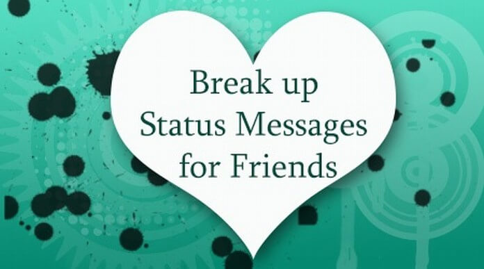 Break up Status Messages for Friends