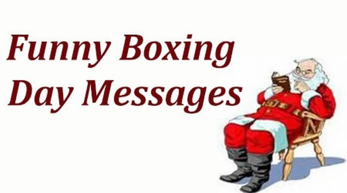 Funny happy Boxing Day Messages