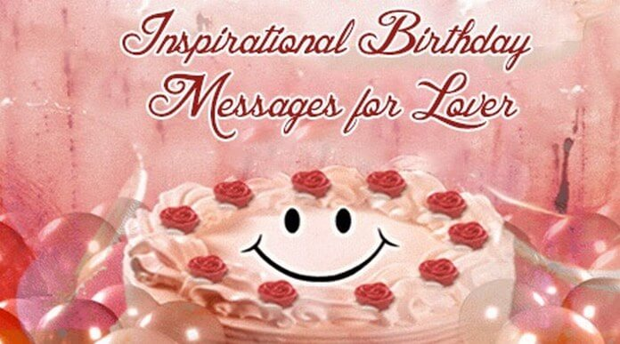 inspirational Birthday Wishes for Lovers
