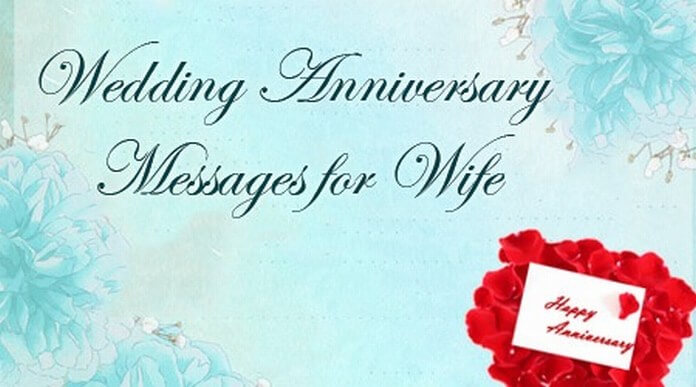 Wedding Gift Message For Wife : Wedding Anniversary Messages for Wife