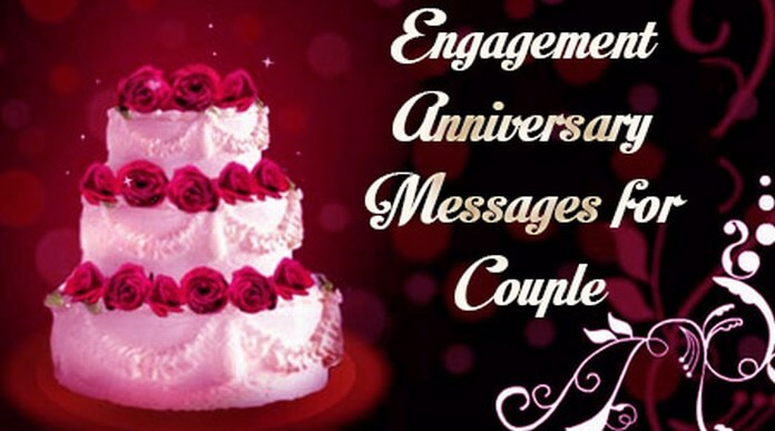Engagement Anniversary Messages for Couple