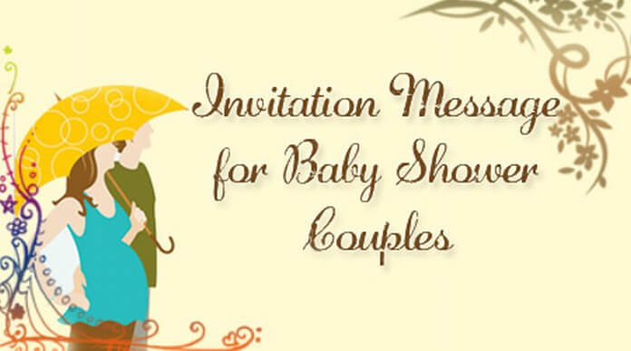 Baby Shower Couples Invitation Message