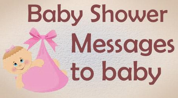 Baby Shower Card Messages To Baby
