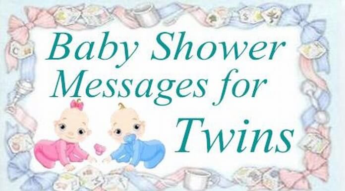 Baby Shower Message For Twins