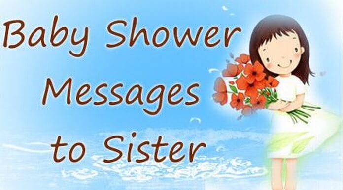 Baby Shower Message to Sister Baby Congratulations Messages – Baby Shower Message