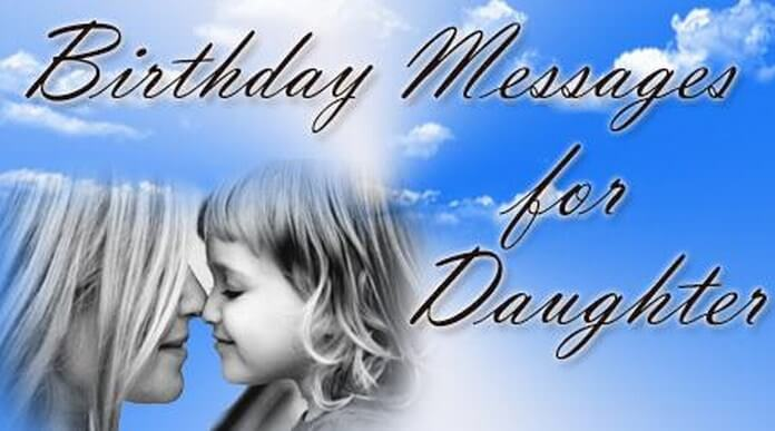 Birthday Messages for Daughter