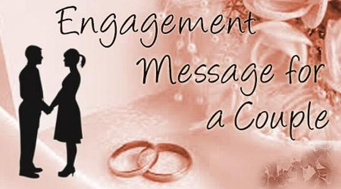 Engagement Messages for a Couple