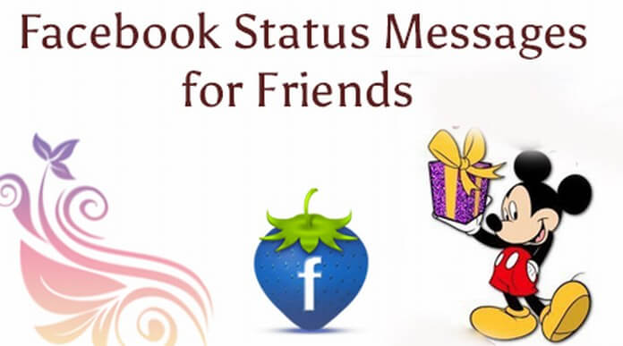 Facebook Status Message for Friends