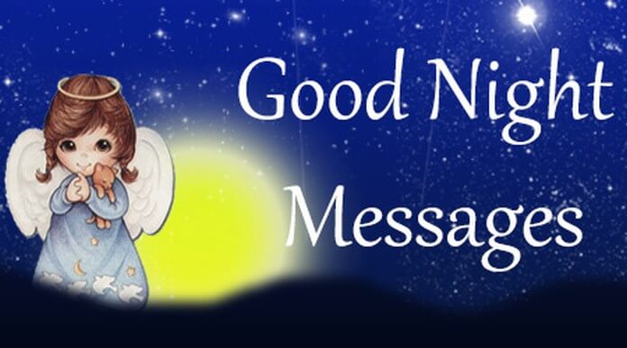 Good Night Messages Sample