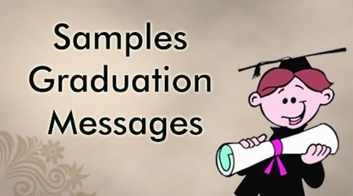Graduation Messages Samples