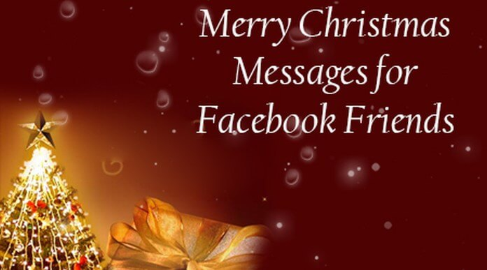 Merry christmas messages for facebook friends