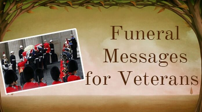 Funeral Messages for Veterans