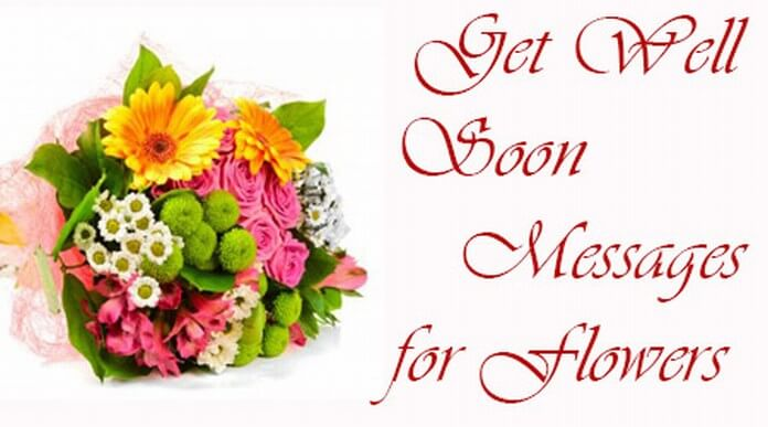 Get Well Soon Messages for Flowers