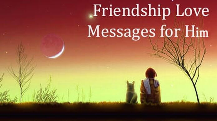Friendship Love Messages for Him