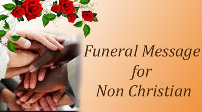 Funeral Message for Non Christian