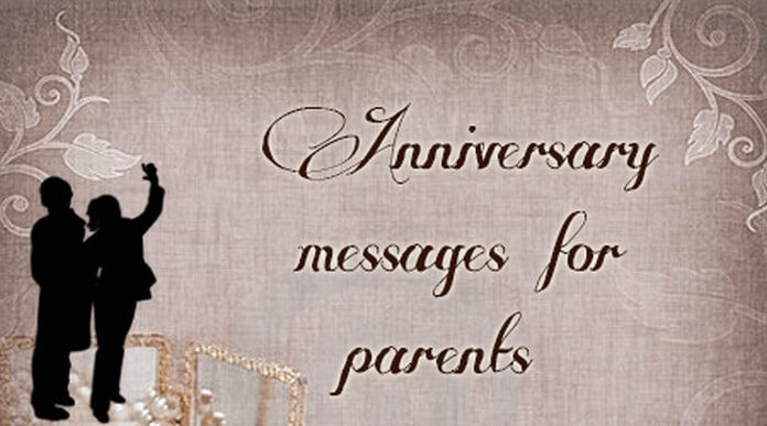 Anniversary text Messages for Parents