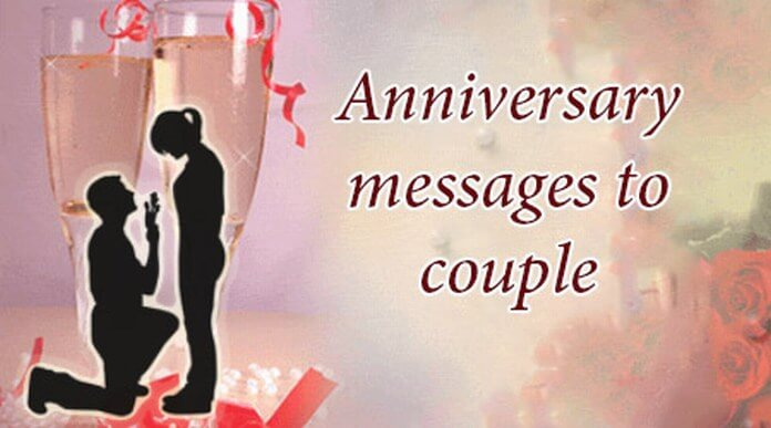 happy anniversary messages to couple