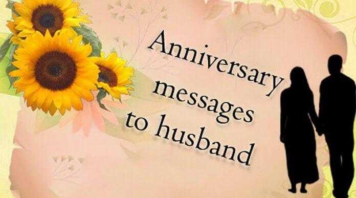 Anniversary messages husband g