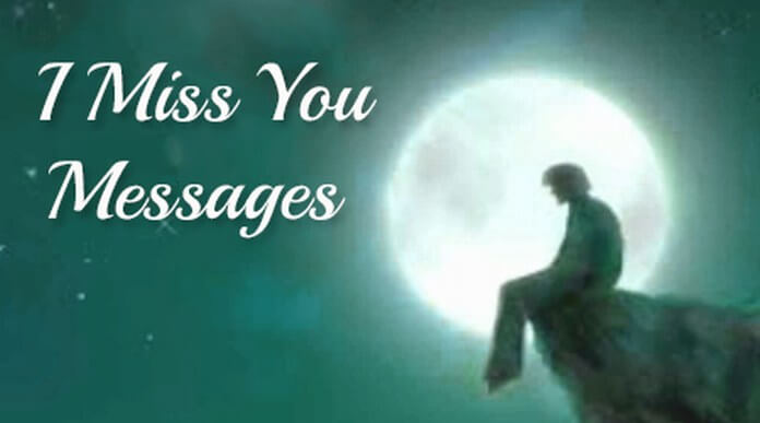 miss you text messages