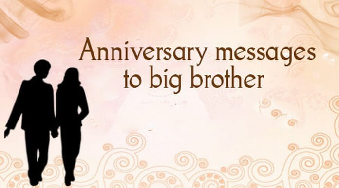 Best Gift For Brother On His Wedding Anniversary : Thank you Message for Husband on Anniversary