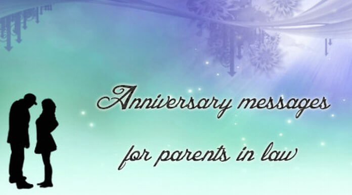 Anniversary Text Messages for Parents in Law