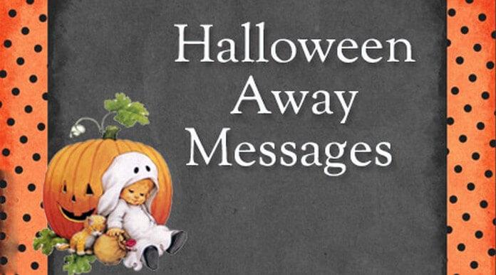 Halloween Away Messages
