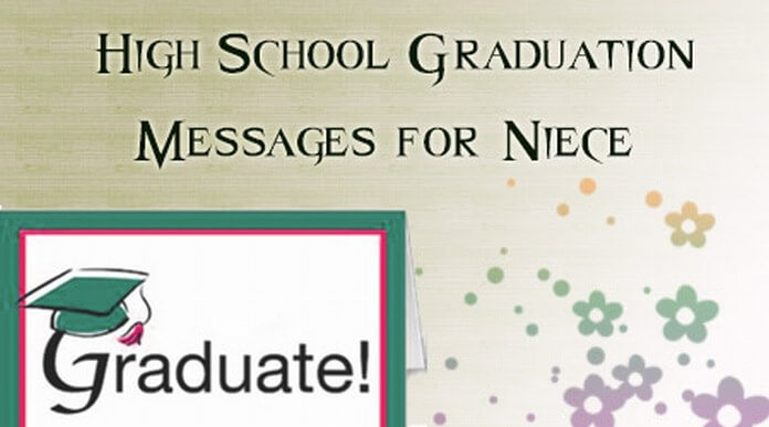 High School Graduation Messages for Niece