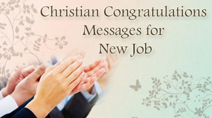 Christian Congratulations Messages for New Job