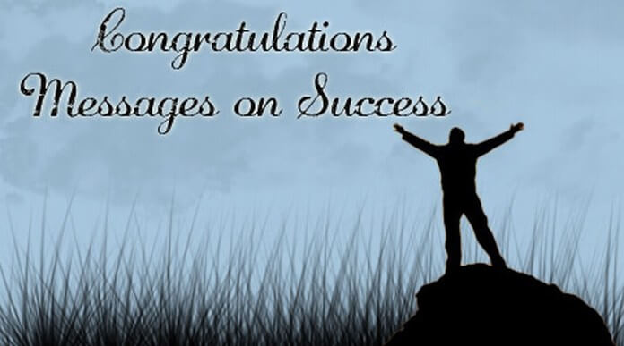Congratulations Messages on Success