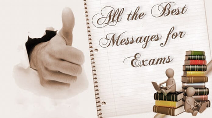 All the Best Messages for Exams
