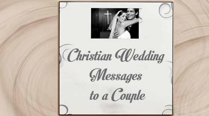 Christian Wedding Messages to a Couple
