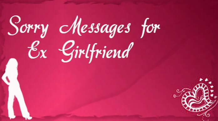 Ex Girlfriend Sorry Text Messages