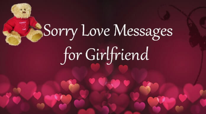 Sorry Love Messages for Girlfriend