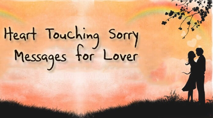 Heart Touching Sorry Messages for Lover
