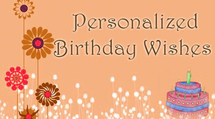 personalized birthday message