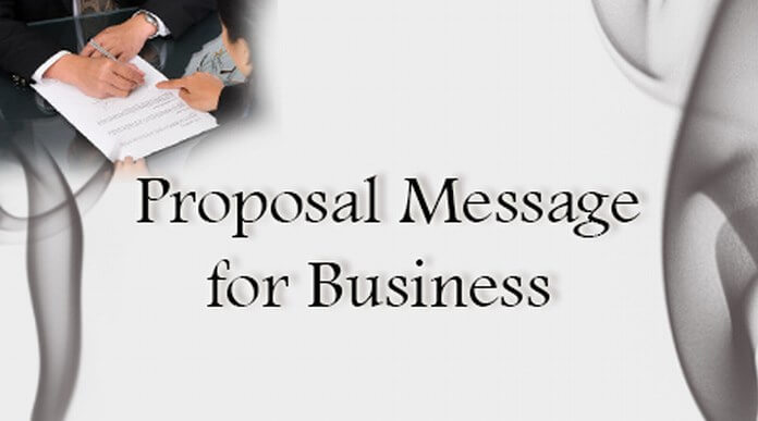 Proposal Message for Business